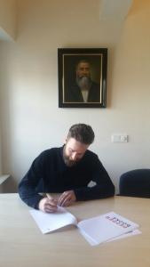 Bart Ongering tekent bij Pepper Books