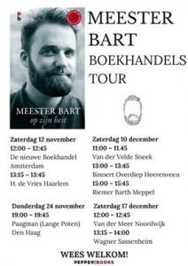 Meester Bart boekhandelstour