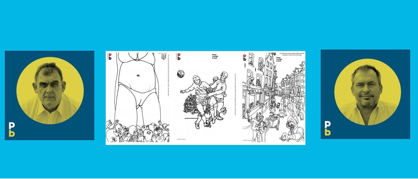 Kleurplaten wedstrijd Het Grote Foute Jongens Boek