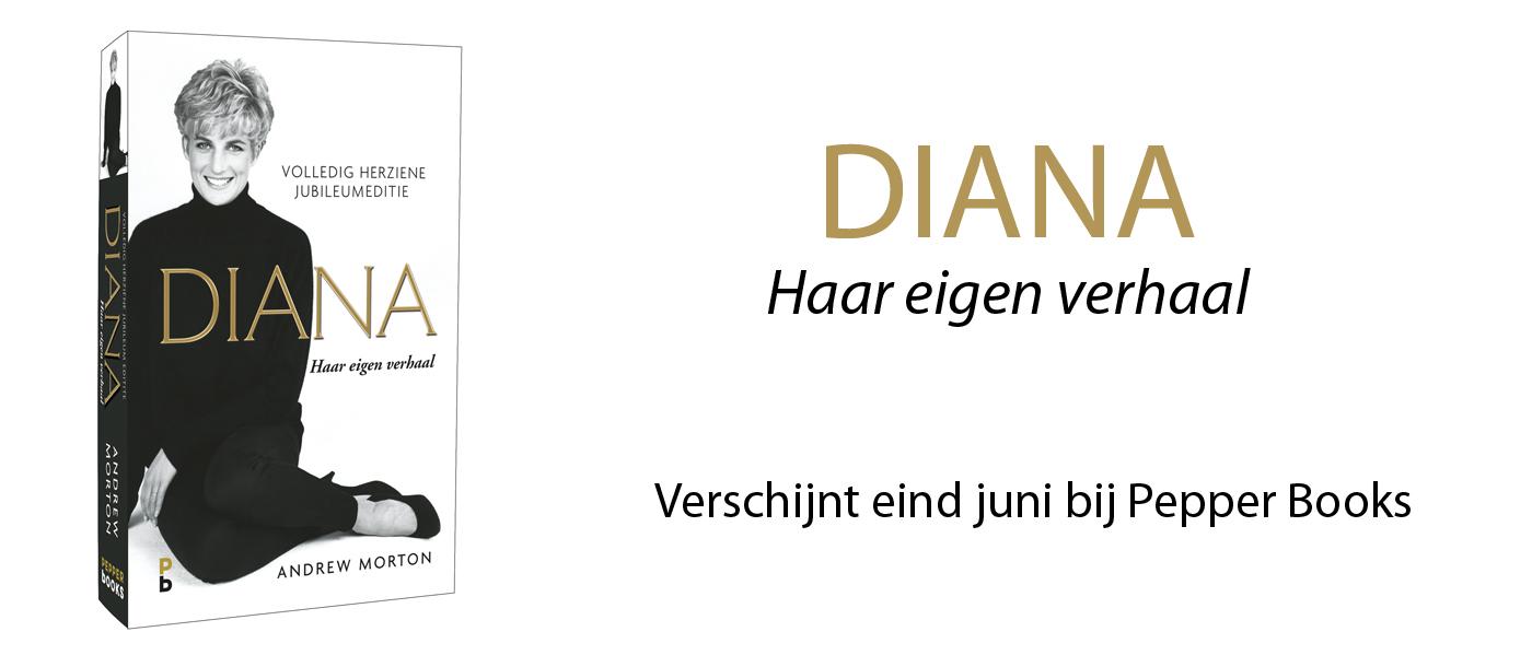 Fascinerende biografie Prinses Diana bij verschijnt eind juni bij Pepper Books